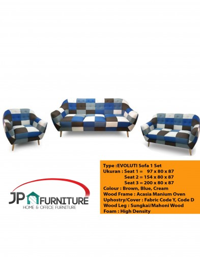 Evoluti Sofa 1 Set