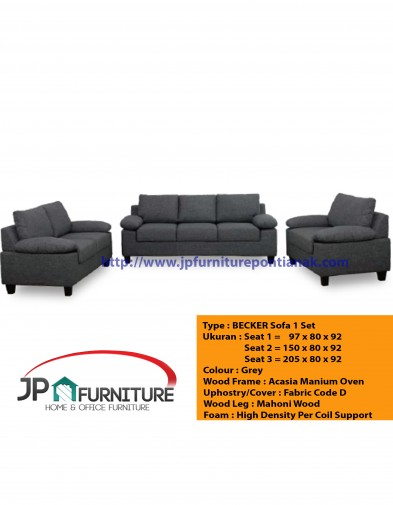 Becker Sofa 1 Set